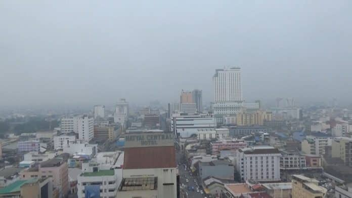 PM2.5 Dust Shrouds Southern Thailand