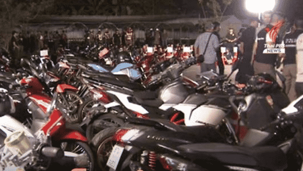 Police offer 3,000 baht reward for information on street racing and reckless driving