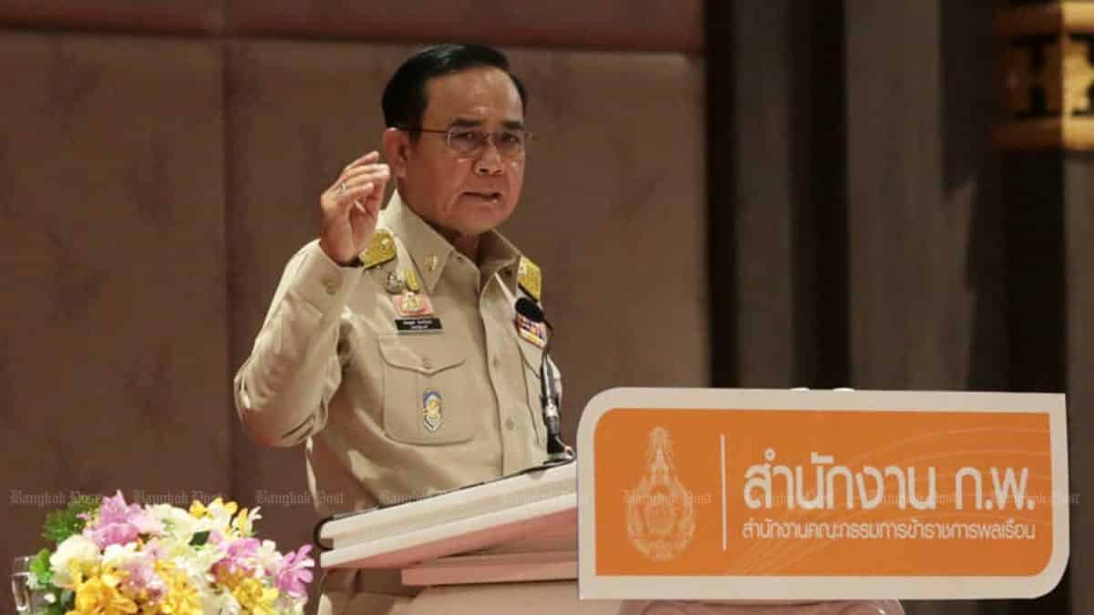 Prayuth unhappy with people's 'endless requests for money'
