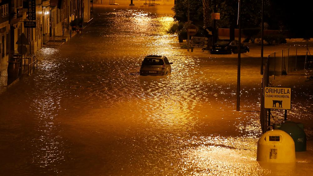 Rescue teams fight effects of deadly floods in Spain
