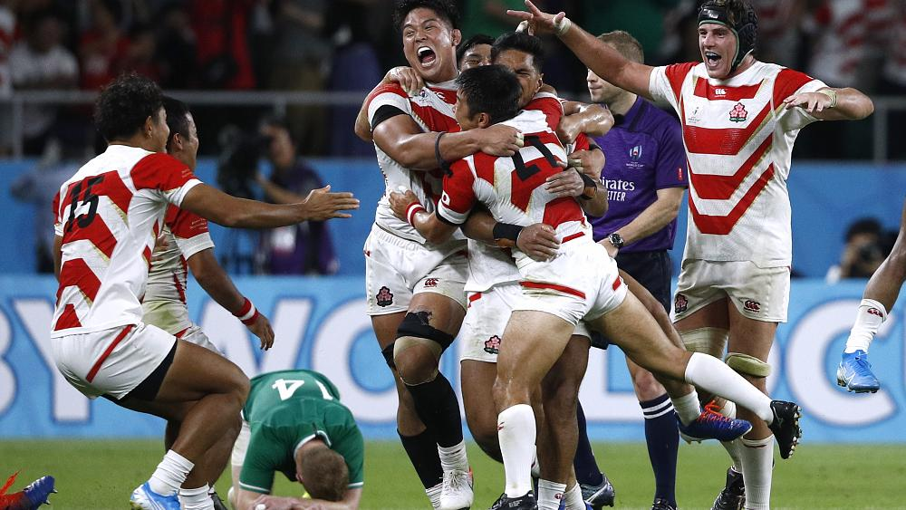 Rugby World Cup hosts Japan beat Ireland 19-12 in major upset