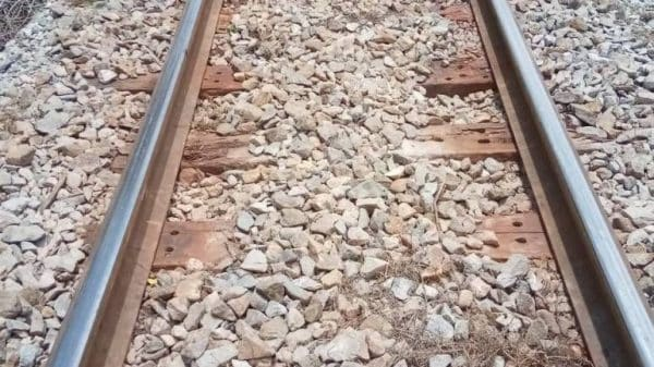 Suspected thief says he stole railway pins and steel plates to get cash