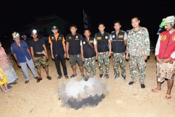 The 10th dead dugong of this year found on Koh Libong