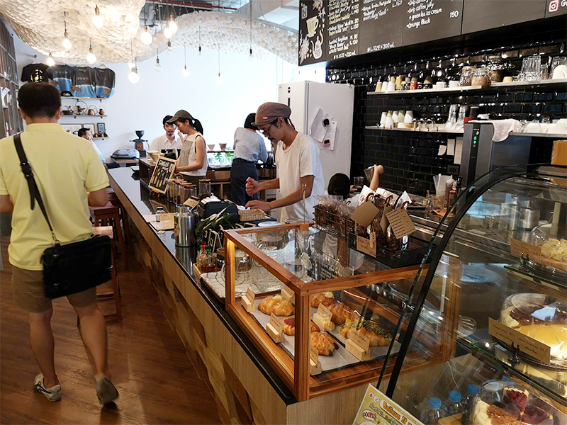 Gallery Drip Coffee also serves pasties and bakery.