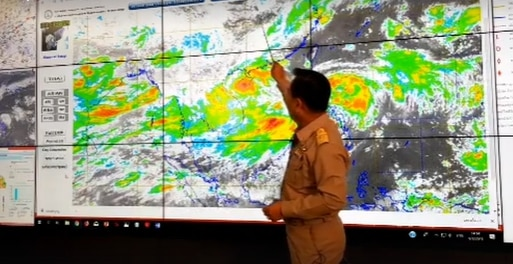 Tropical storm Kajiki to miss Thailand, but rain will be heavy, especially in NE