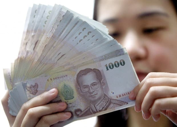 Baht speculation is now on the DOWNTURN