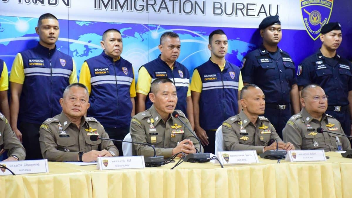 Fake Passport for Illegal workers caught.