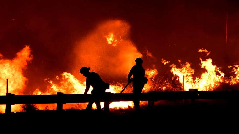 Fears California wildfires will turn deadly as strong winds forecast