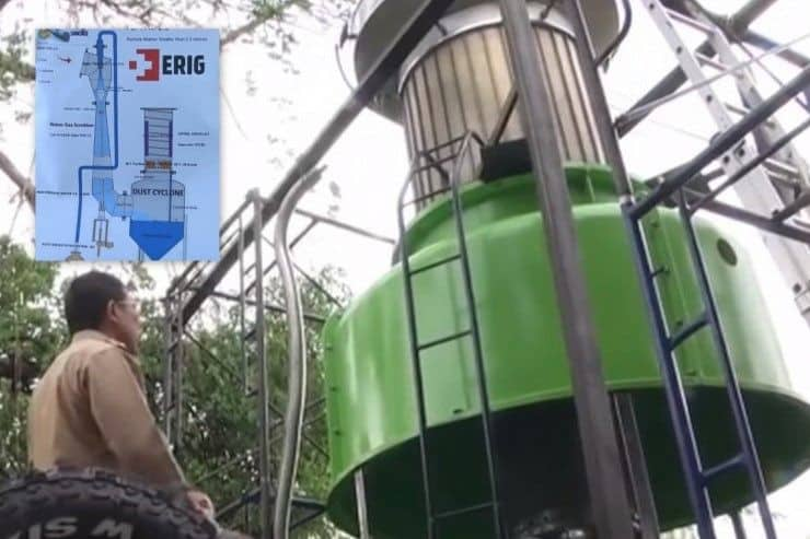 'Green Giant' to deal with pollution