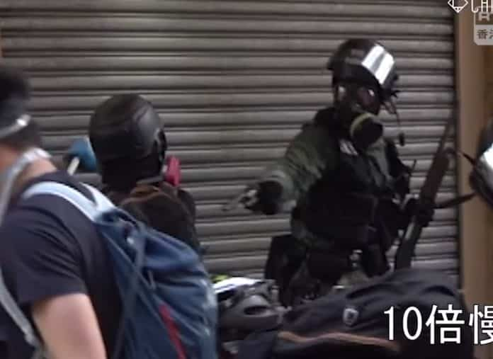 Hong Kong Students Decry Police Shooting of Teen Protester (Video)