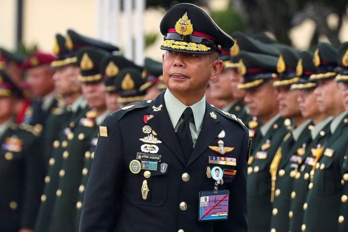 Thai army chief accused of 'INSTIGATING HATRED'