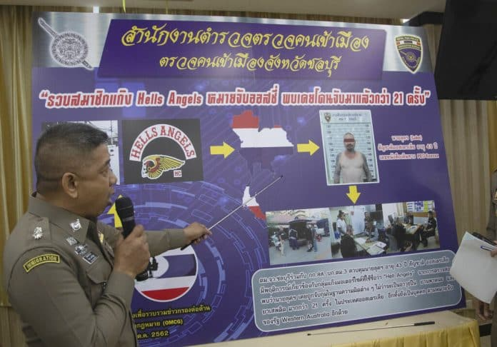 Thai Police Arrest Australian Hell's Angel on Drug Charges