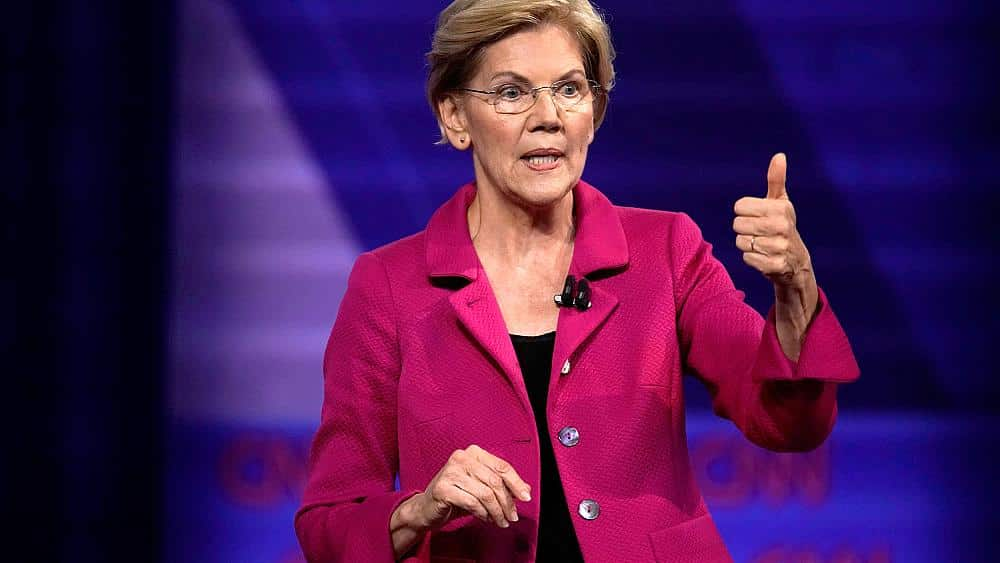 Warren was asked about faith and gay marriage. Her response went viral.