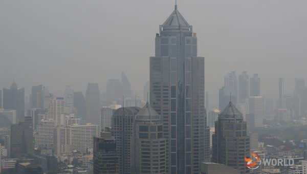 16 areas in Bangkok and suburbs at risk of smog today