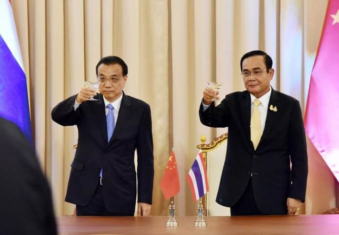 Chinese PM Pledges Support for Thailand's Eastern Economic Corridor