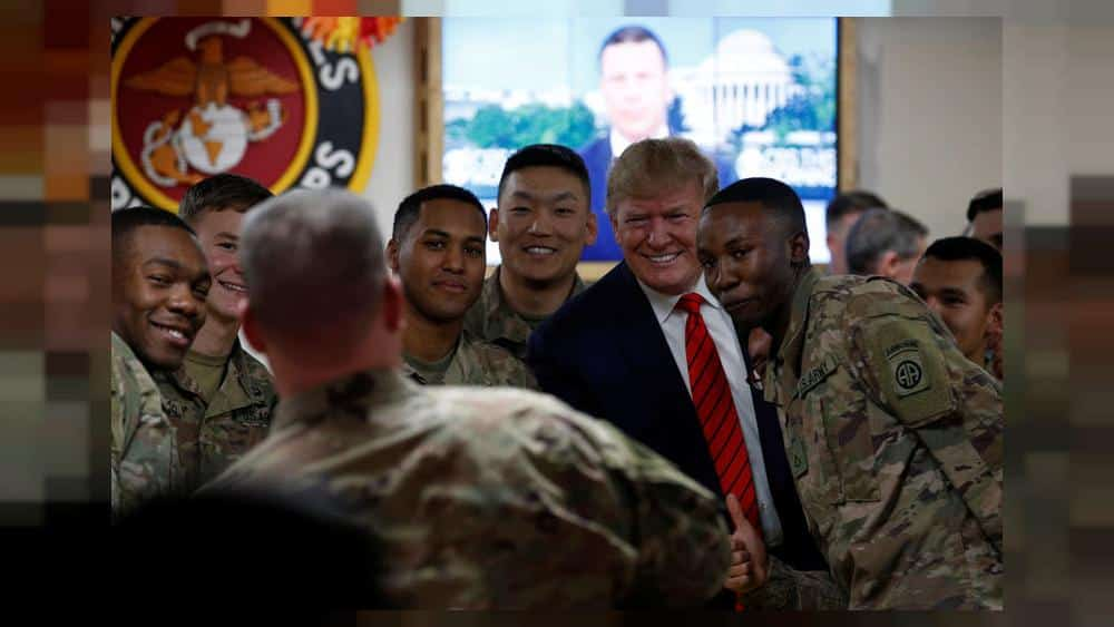 No phones, scripted tweets – How Trump's Afghanistan trip was kept under wraps