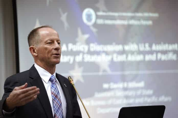 US Official Urges ASEAN to Stand up to China in Sea Row