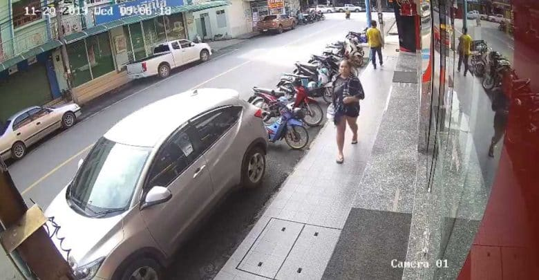 Indonesian woman arrested after robbing gold shop.