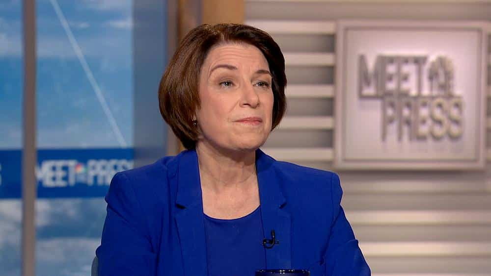 Klobuchar says impeachment probe has uncovered a 'global Watergate'