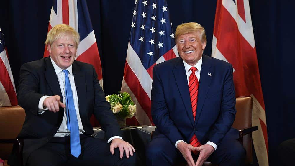 Trump is so unpopular in the U.K. that some are lining up for a fight