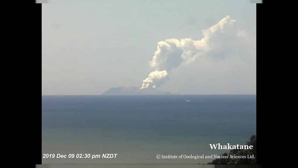White Island Volcano erupts in New Zealand leaving at least one dead and several injured