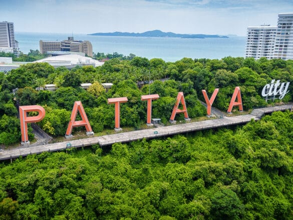 Pattaya is claiming to be 'bursting at the seems'