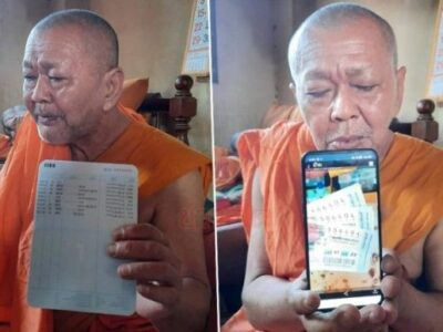 lottery winning monk