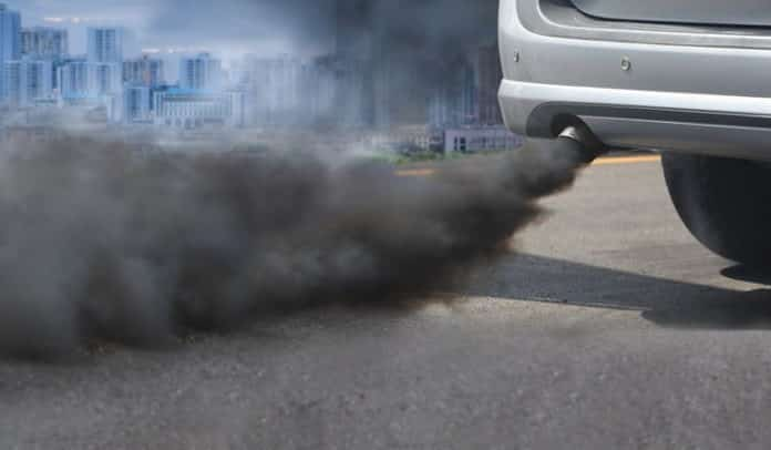 vehicles causing pollution