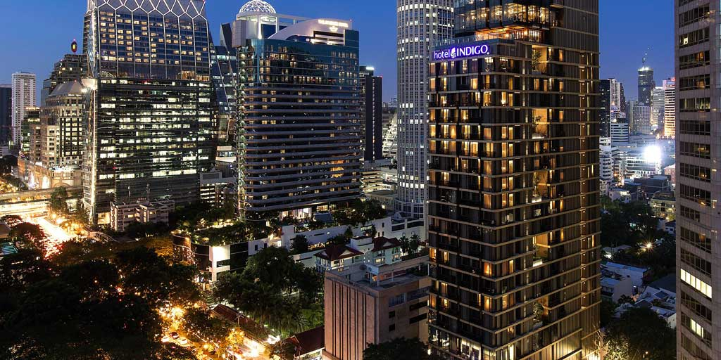 hotel indigo bangkok wiireless road InterContinental Hotels Group