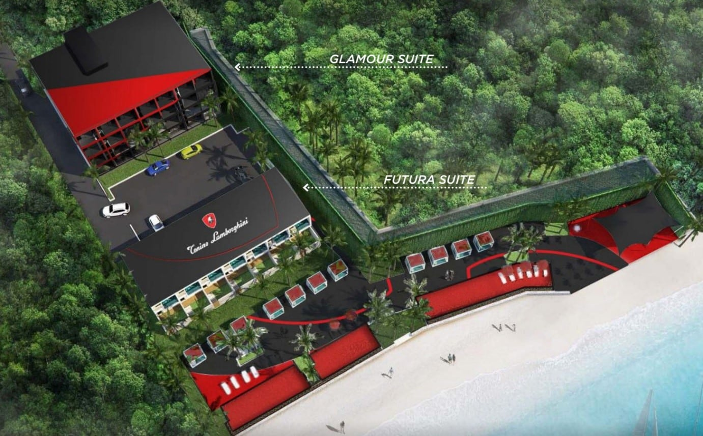 Tonino Lamborghini Boutique Hotel Phuket Chalong Bay