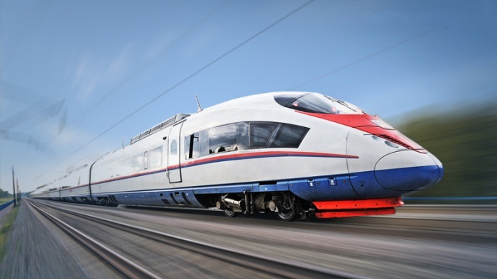 high-speed train project