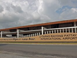 Nok Air operates flights from U-Tapao Airport to 6 Thai cities